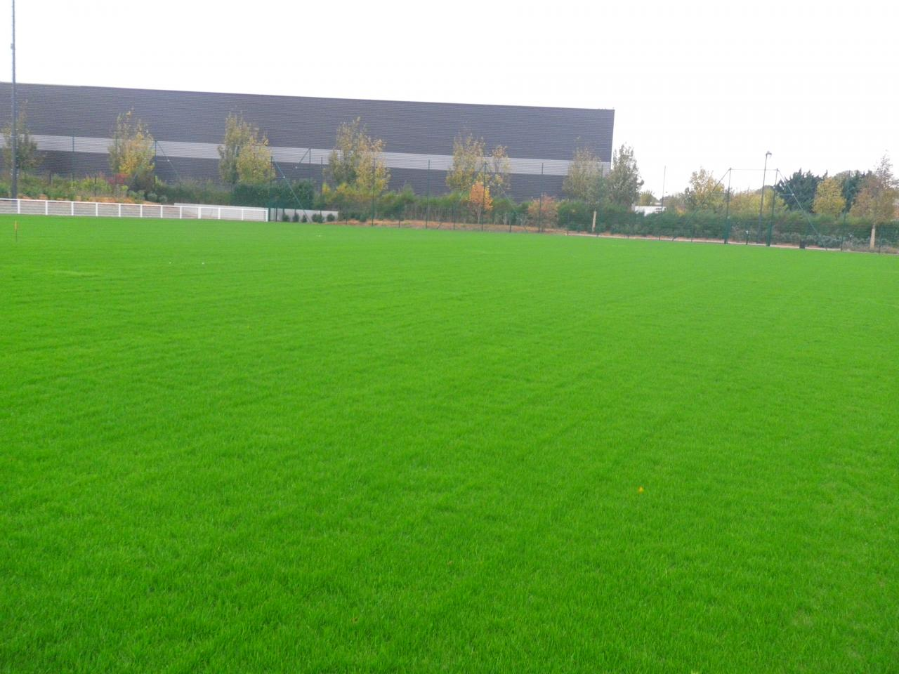 Le terrain de sport en Substrat SI de Mesnil Amelot 1